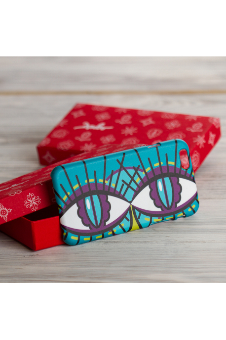 Dragonfly eyes phone case