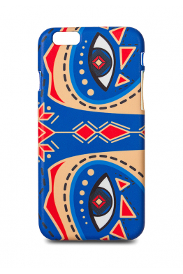 "iPhone case ""Dyvooo-eyes. The Cornflower Raccoon"""
