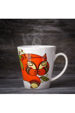 "Mug ""The Sleeping Fox"""