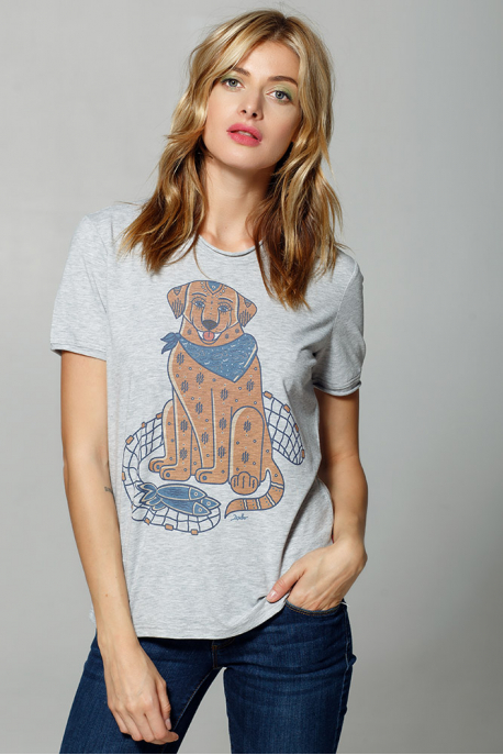 "Women's T-Shirt ""The Canadian Labrador"""