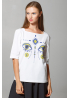 "T-SHIRT DONNA ""DYVOOO EYES. CERVO FANTASTICO"""