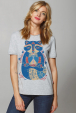 "Women's T-Shirt ""Cornflower raccoon"""