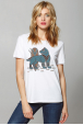 "Women's T-Shirt ""Steel Wolf"""