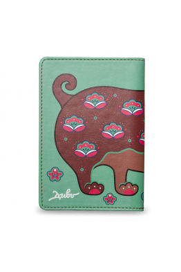 "Passport Cover ""IL CARLINO DELL'ALBICOCCO"""