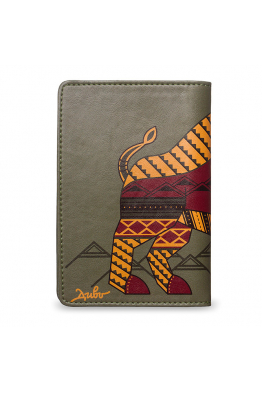 "Passport Cover ""IL BISONTE DEI CARPAZI"""