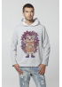 "MEN'S SWEATSHIRT HOODIE ""The hedgehog Ghluti"""