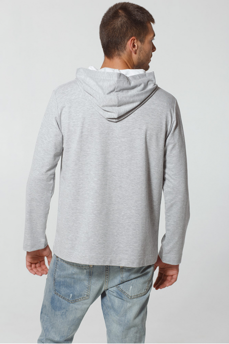 Men's Hoodie with Carpathian Bison