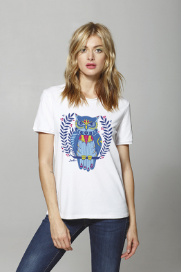 "T-shirt ""The Owl Taleteller"""